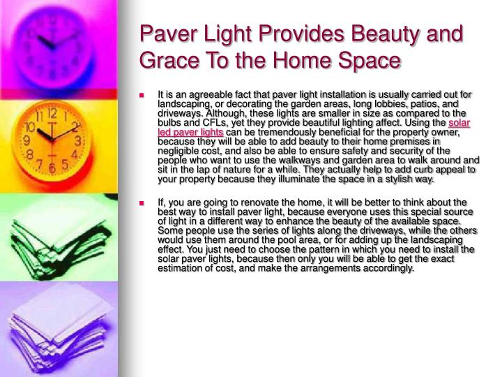 paver light provides beauty and grace to the home space n.