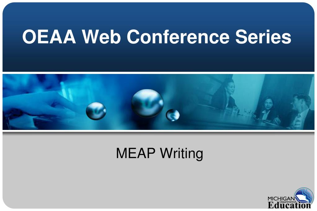oeaa web conference series l.