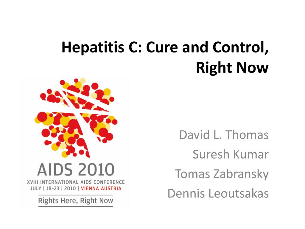 hepatitis c cure and control right now l.