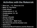activities with the rekenrek