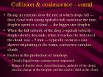 collision coalescence contd1