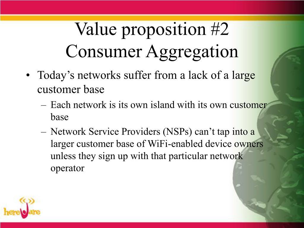 Value proposition #2