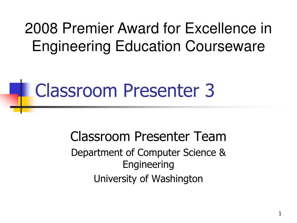 classroom presenter 3 l.