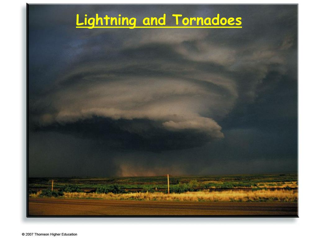 lightning and tornadoes l.