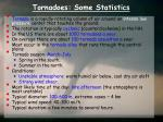 tornadoes some statistics