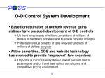 o d control system development