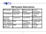 rm system alternatives