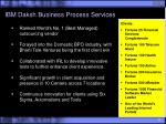 ibm daksh business process services