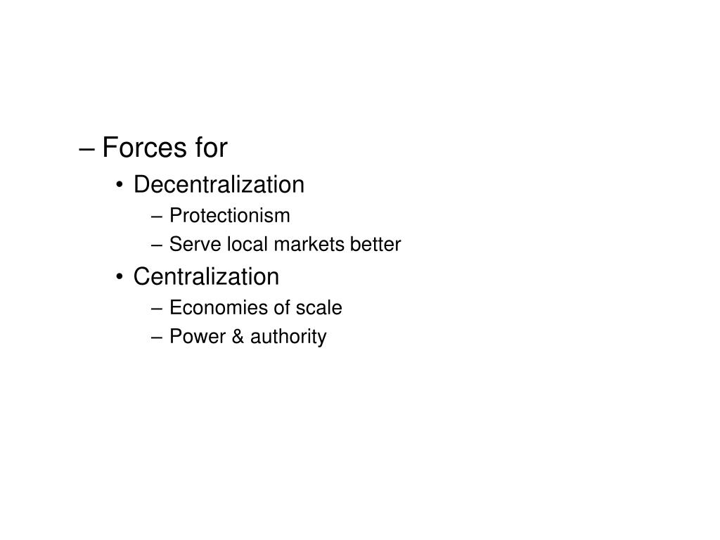 Forces for