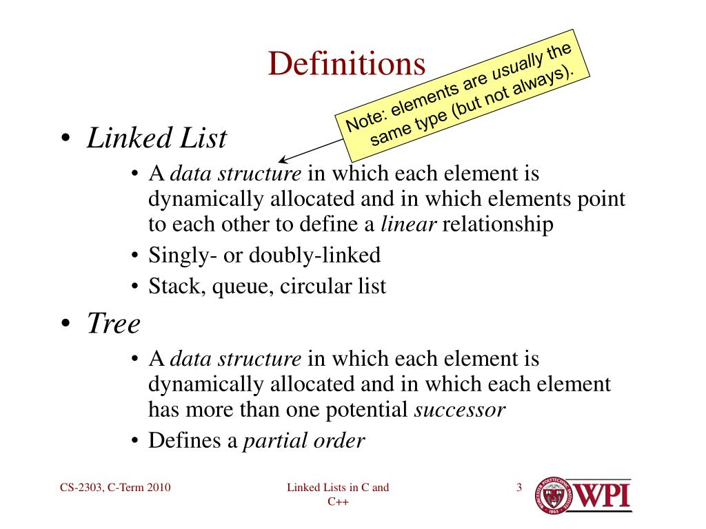 PPT - Linked Lists in C and C++ PowerPoint Presentation - ID