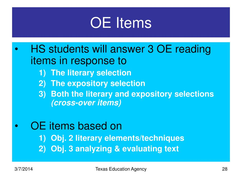 OE Items