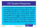 oe student response35