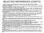selected references cont d