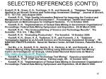 selected references cont d60