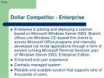 dollar competitor enterprise