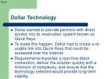 dollar technology