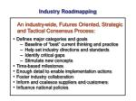 industry roadmapping