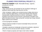 planned fipse proposal project 1
