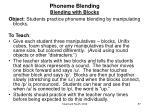 phoneme blending blending with blocks