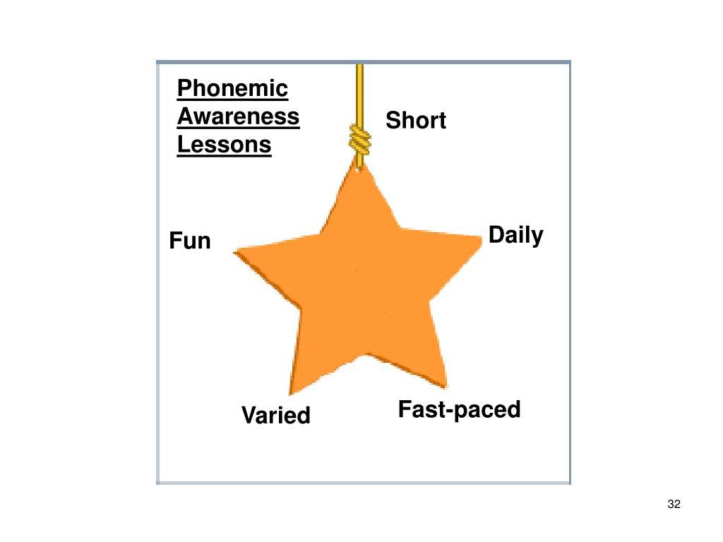 Phonemic Awareness