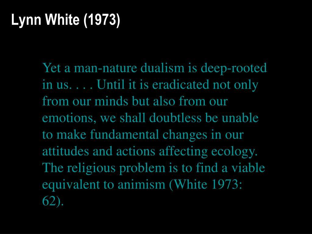 Lynn White (1973)