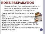 home preparation14