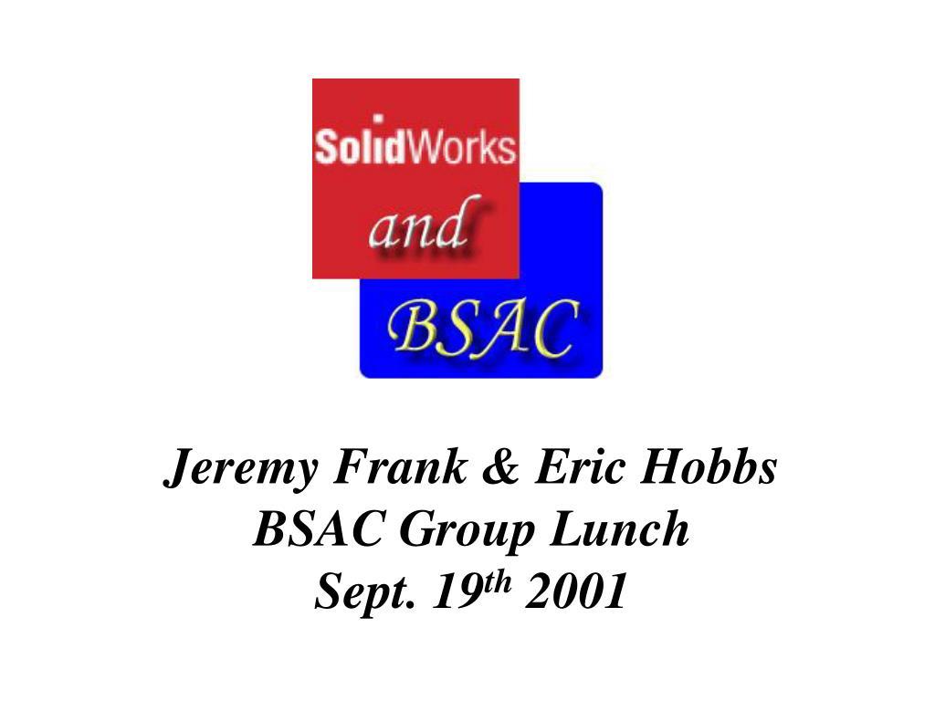 Jeremy Frank & Eric Hobbs