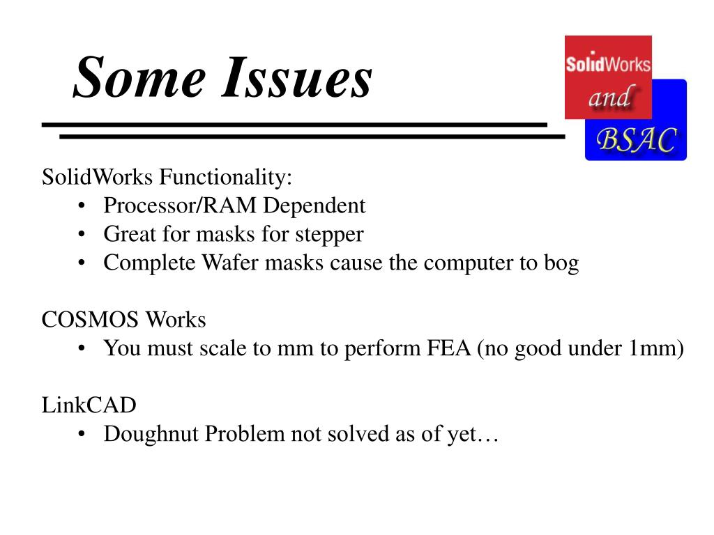 Some Issues