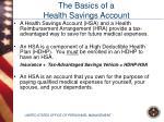 the basics of a health savings account