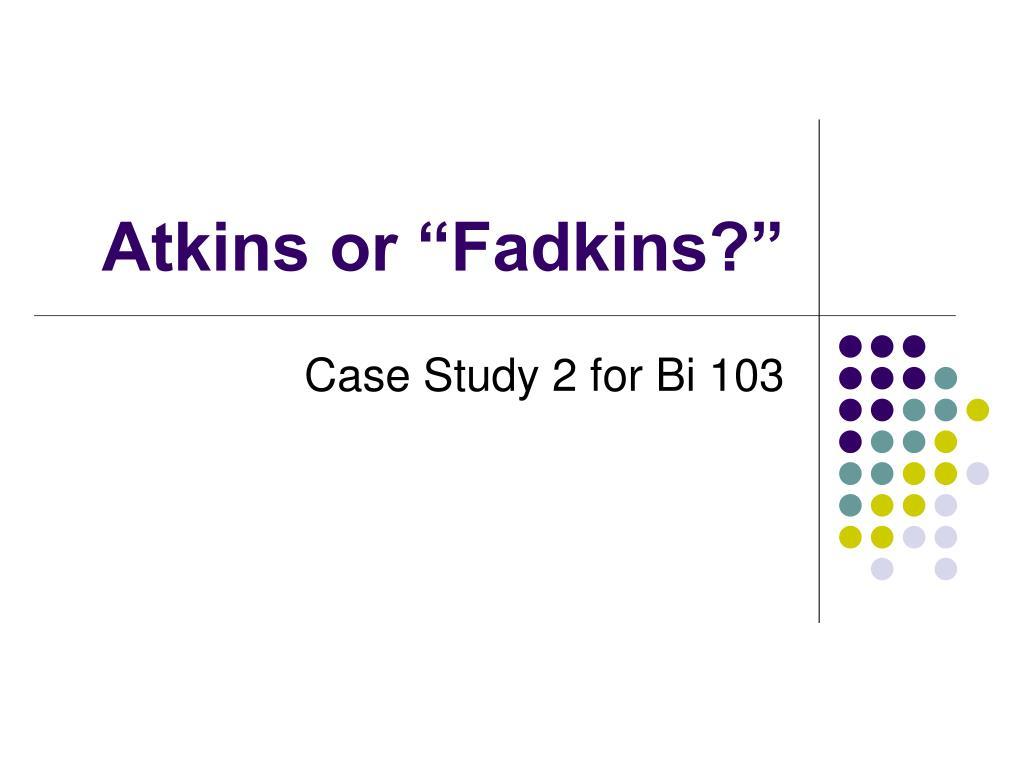 atkins or fadkins l.