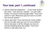 your task part 1 continued