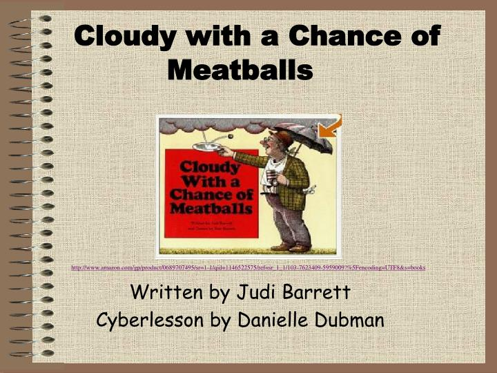 cloudy with a chance of meatballs n.