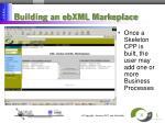 building an ebxml markeplace