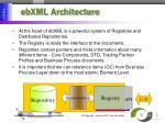 ebxml architecture