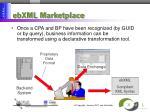 ebxml marketplace