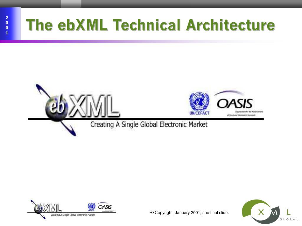 The ebXML Technical Architecture