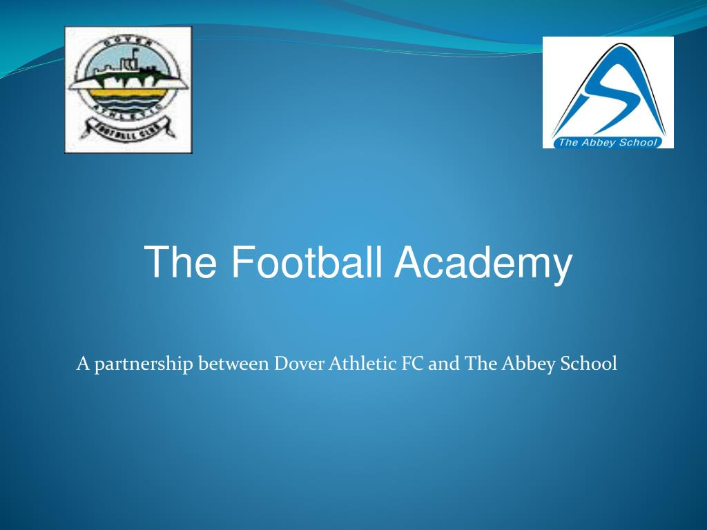 a partnership between dover athletic fc and the abbey school l.