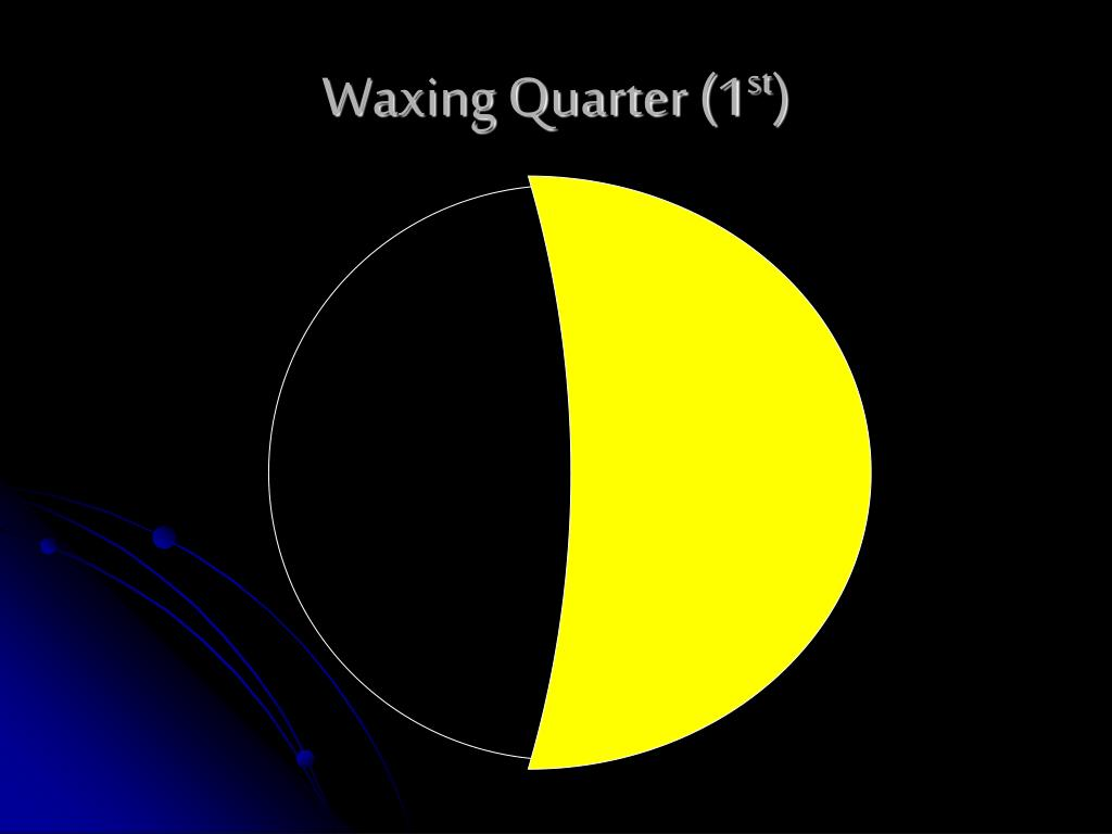 Waxing Quarter (1