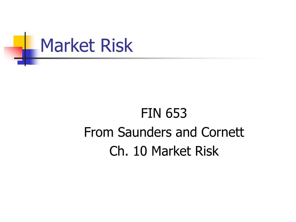 market risk l.