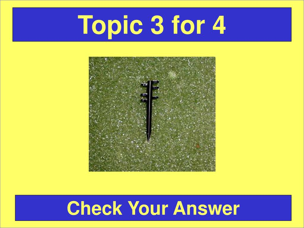 Topic 3 for 4