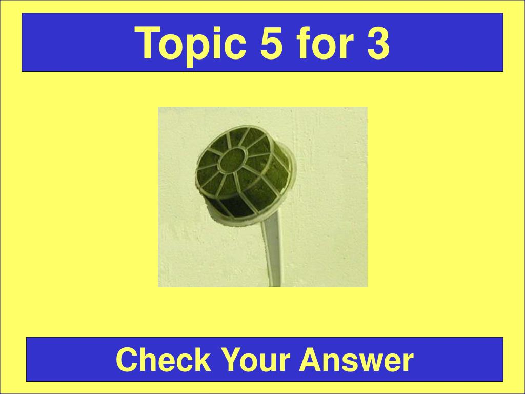 Topic 5 for 3