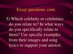 essay questions cont3