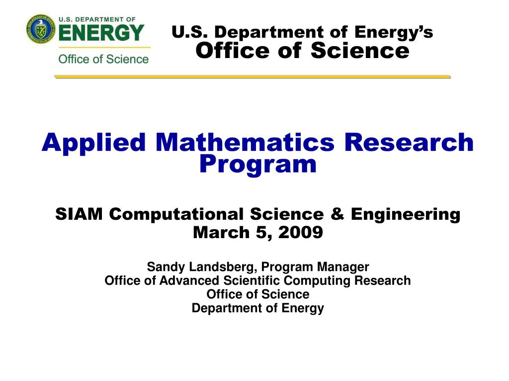 u s department of energy s office of science l.