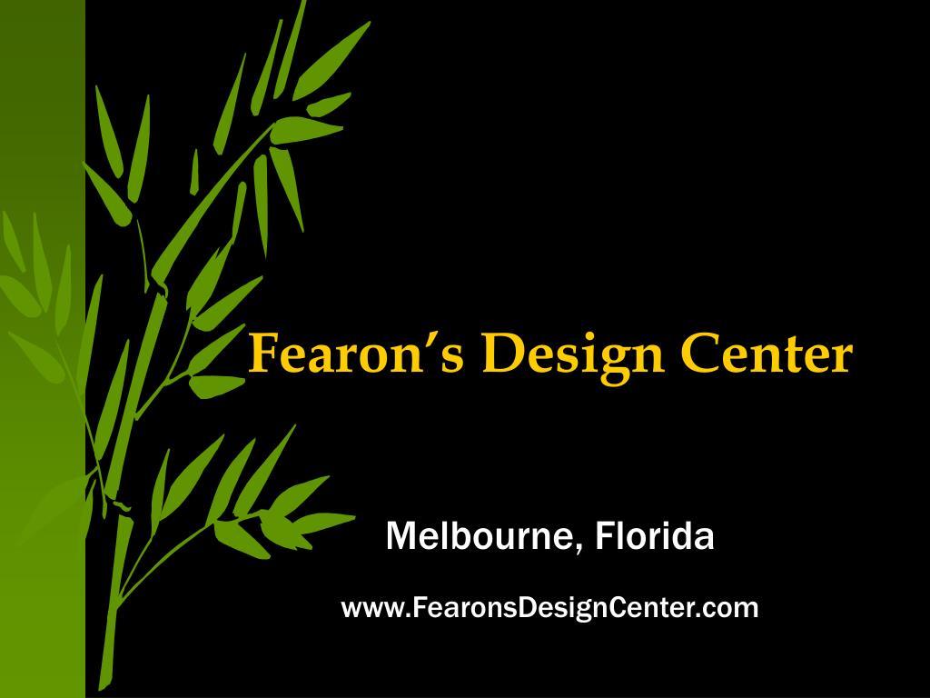 fearon s design center l.