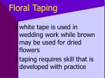 floral taping41