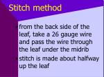 stitch method34