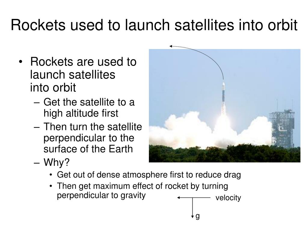 Rockets used to launch satellites into orbit