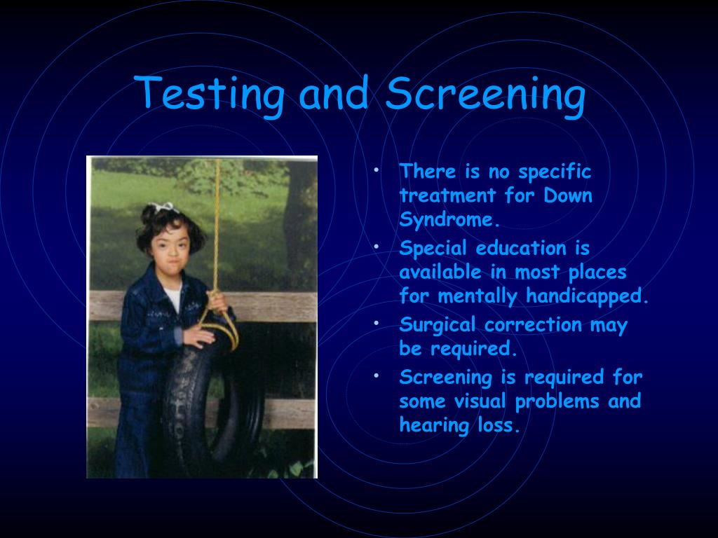 Testing and Screening