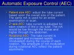 automatic exposure control aec64