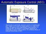 automatic exposure control aec65